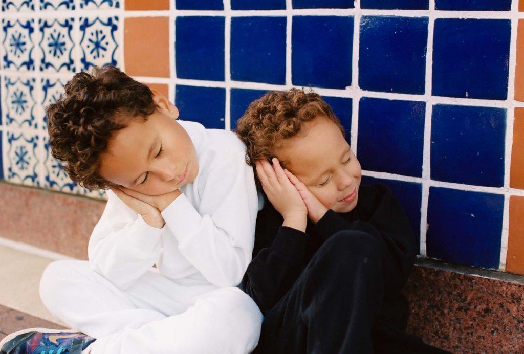 """Deep into the night the children sleep, sleep, sleep"""